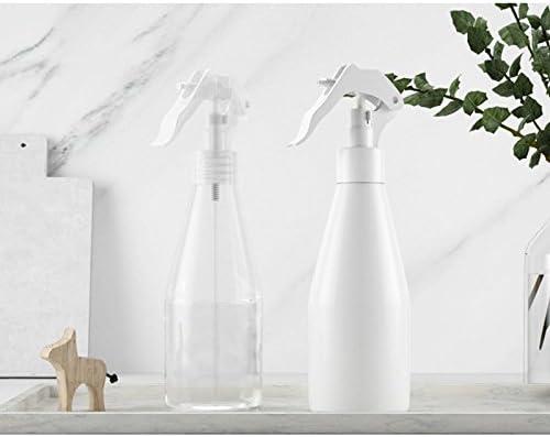 Da.Wa 200ml Transparent Plastic Fine Mist Spray Bottle Travel Bottle Set Transparent Empty Spray Bottle