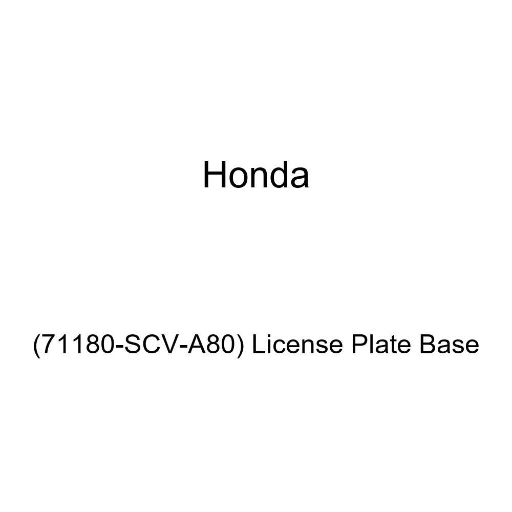 Genuine Honda 71180-SCV-A80 License Plate Base