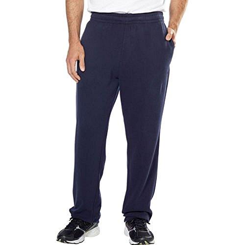 Fila Mens Fleece Pant-Navy, Medium