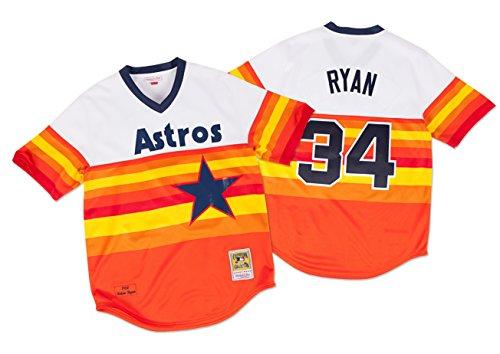 Nolan Ryan Houston Astros Mitchell & Ness Authentic MLB 1980 Pullover Jersey