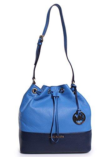 Michael Kors Jules Large Drawstring Shoulder Shoulder Handbags Heritge Blue/Navy
