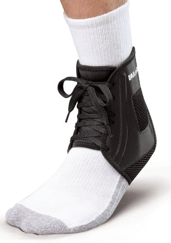 Mueller XLP Ankle Brace, Black, Medium, Women's 10-12, Men's 9-11