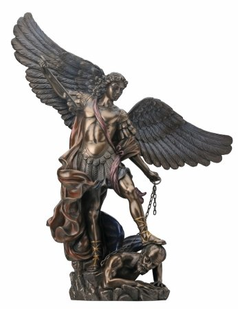 Classical Statue (St. Michael the Archangel - Collectible Figurine Statue Sculpture)