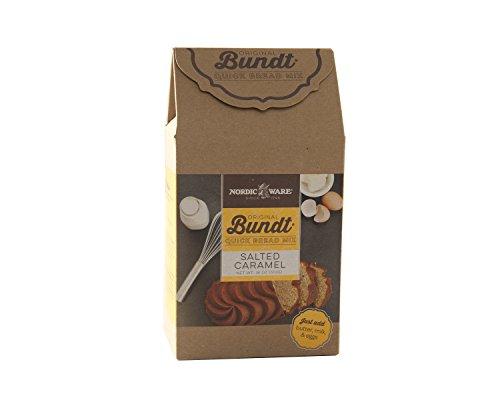 Nordic Ware 77728 Gourmet Bundt Salted Caramel Quickbread Mix, Brown (Cake Nordic Chocolate Ware)