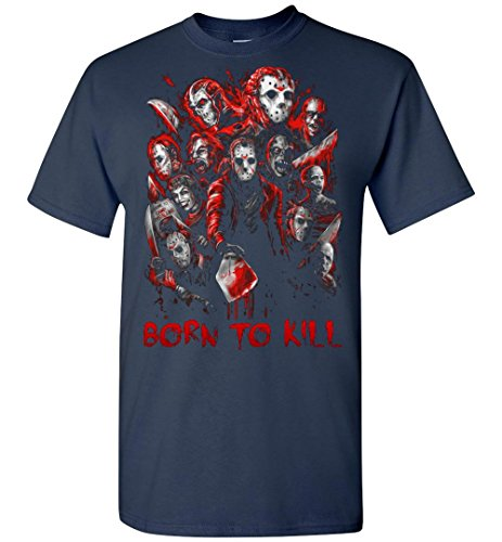 Faces of Jason Voorhees - Halloween Adult/Youth Shirt -