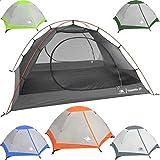 Hyke & Byke Yosemite 2P Backpacking Tent (Orange) - Best Reviews Guide
