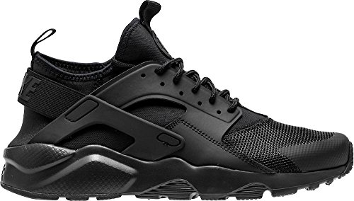 NIKE Men's Air Huarache Ultra Athletic Shoe Black/Black/Black 10 D(M) US by NIKE