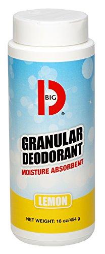 big-d-150-granular-deodorant-moisture-absorbent-lemon-fragrance-16-oz-pack-of-12