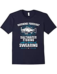 Funny Saltwater Fishing T-Shirt - Mens Womens - Gift Idea