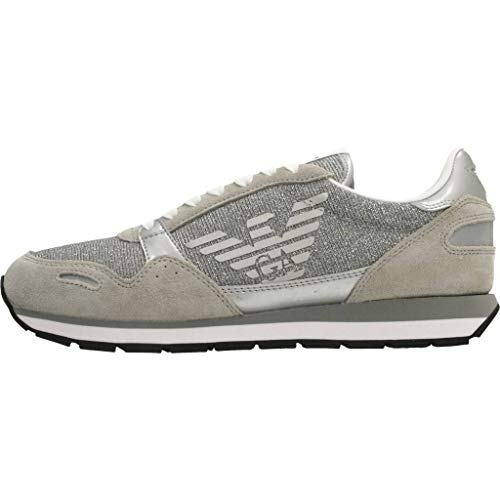 Xl617 Armani Mod Sneaker Plastersilver Armx3x058 Donna HIrISqEx