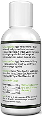 Dental Care For Dogs - Gel Me: Doggy Dental Gel (4Oz) - All Natural Ingredients That Freshen Breath While Reducing Dental Plaque And Tartar Build-Up Without Brushing - Veterinarian Approved