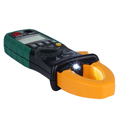 AIMO MS2108A Auto Range Digital Clamp Meter 400 AC DC Current Hz Tester by Aimo (Image #3)