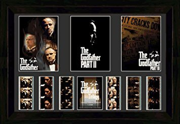 Trilogy Film Cell - The Godfather Trilogy (Triple) Film Cell