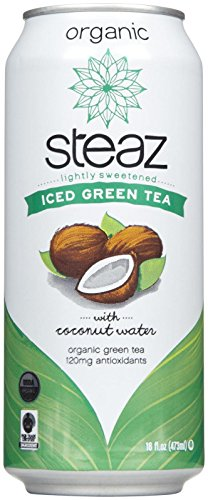 Steaz Iced Green Tea Coconut