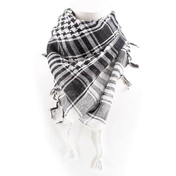 Shemagh Arabische Schal Weiss Amazon De Kuche Haushalt