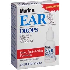 Wax ear drops