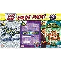 3 paquetes de programas de juegos de DVD: juego de partidos, juego de recién casados, contraseña