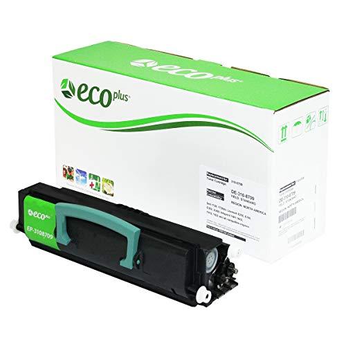 Ibm Waste Toner - EcoPlus Dell/Lexmark EP3108709 Re-Manufactured Black Toner Cartridge