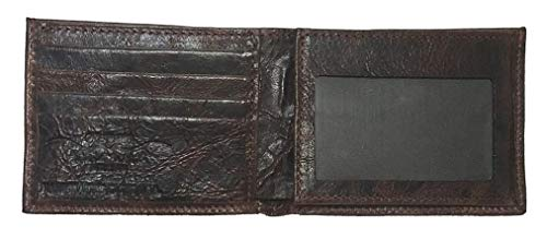 Bi Flip made Wallet Proud Chocolate with American Leather USA the Proudly ID fold in Custom Harness qHfw7Sqt