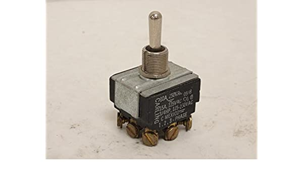 Toggle switch 10A 250V  15A 125V 3//4 HP New