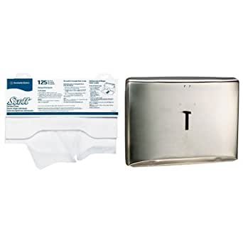 Kimberly Clark Reflections Toilet Seat Cover Dispenser With 24 Pack