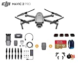 DJI Mavic 2 Pro Drone Quadcopter with Extra Battery, Ultimate Bundle, with 64GB SD Card, Filter Set (CPL ND8 ND16 ND32), Landing Gear, Landing Pad and Backpack