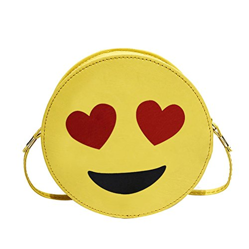 Handbag Emoji Purse Chain Crossbody Women Donalworld Shoulder Hard Pattern7 Case 8wUBWx5q