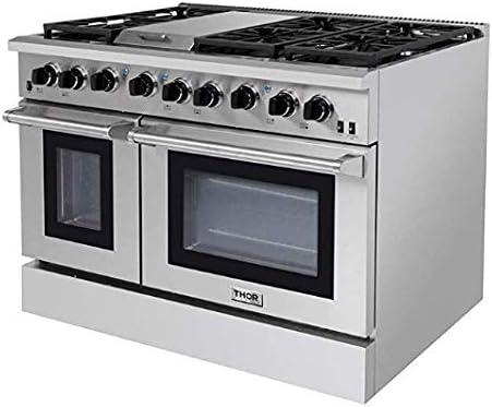 Thor Kitchen Pro-Style LRG4801U 48 inch Gas Range