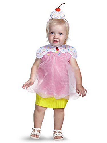 Disguise Infant Girls Cupcake Cutie Costume 12-18 Months (Cupcake Cutie)