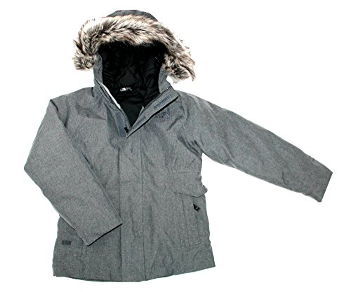 THE NORTH FACE ell Youth Girls Urban Down Jacket TNF Med Grey Heater (XS 6) by The North Face