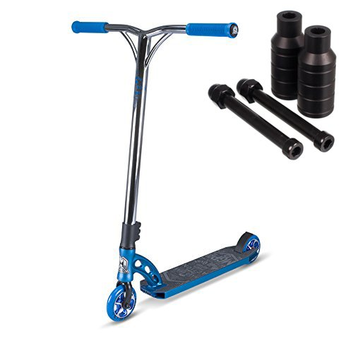 Madd Gear VX7 Team Scooter (Blue, VX7 with Pegs) Team Pegs