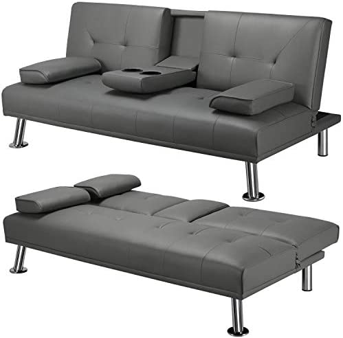 YAHEETECH Sectional Living Room Set Modern Divets...
