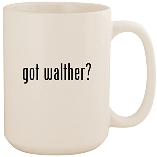 (got walther? - White 15oz Ceramic Coffee Mug Cup)