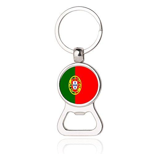 Ndier Llavero Colgante Portugal Bolso Sacacorcho Adorno Concurso Fú tbol Recuerdo Regalo Decoració n del Coche Puerta Telé fono Bolsa