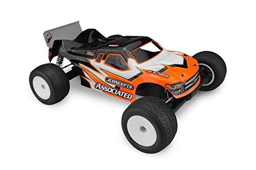 Price comparison product image Finnisher Clear Body with Spoiler: RC10T5M