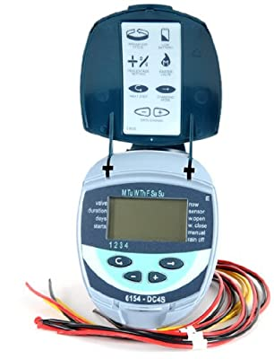 Galcon 61542 DC-4S 4-Station Battery Operated Irrigation and Propagation Seconds Operation Controller