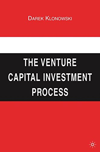 The Venture Capital Investment Process