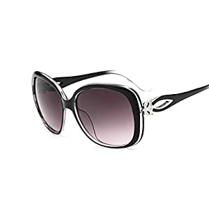 tocoss (TM) Vintage Fox Oval gafas de sol mujer marca funda ...
