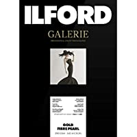 ILFORD Galerie Gold Fibre Pearl A2 290GSM - 25 Sheets Professional Galerie Gold Fibre Pearl A2 290GSM - 25 Sheets, White (2002698)