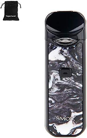Cigarrillo electrónico SMOK Nord Pod Starter Kit Kit integrado de batería de 1100 mAh MTL Vaping Pod System Kit 2 ml ecig sin nicotina sin líquido (resina en blanco y negro): Amazon.es: