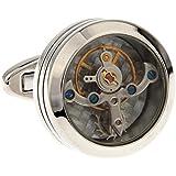 Cilindro de Tourbillon MFYS de Gemelos con diseño de caza para joyería Gemelos para hombre