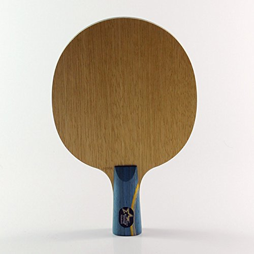 Table Tennis Blade Racket Pingpong Finished Bats Ping Pong Shake Hand Long Handle (short handle) (Block Outboard Clamp)