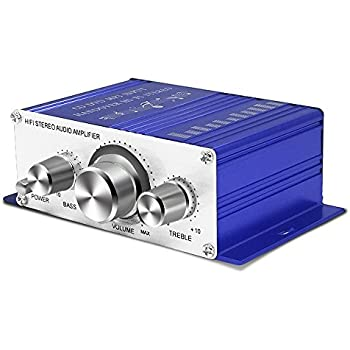 tsumbay mini amplifier 12v hi fi stereo audio amplifier digital power amplifier. Black Bedroom Furniture Sets. Home Design Ideas