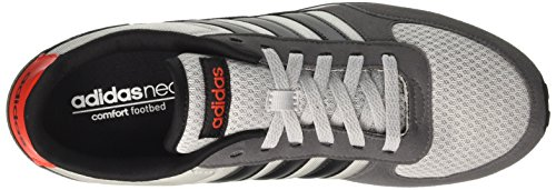 grey Two Adidas Uomo Scarpe Da Black Racer Ginnastica Red core Neo City Grigio core ar1zq8a