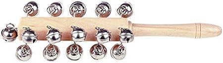 Baby Glockenstab Schellenstab Holz Musikinstrument Spielzeug