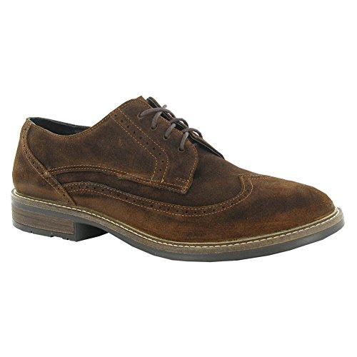 Naot Magnate Executive Hombres Oxfords Zapatos Seal Brown Suede