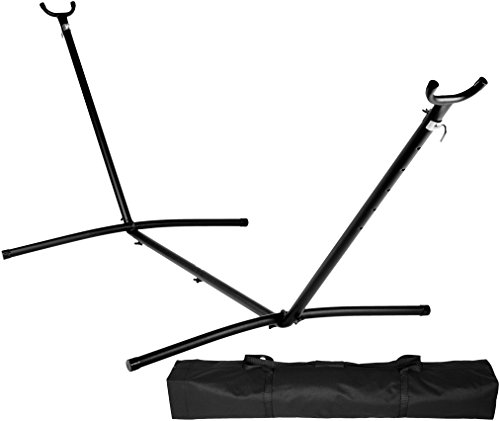 AmazonBasics Hammock Stand With Carrying Case, 9-Foot (Affordable Canopy Beds)