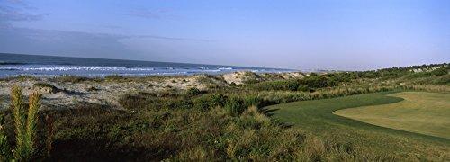 Posterazzi PPI115774L Course at The Seaside Golf Resort Kiawah Island Charleston County South Carolina USA Poster Print, 36 x 12