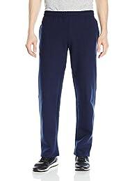 Gildan Mens Standard Fleece Open Bottom Pocketed Pant
