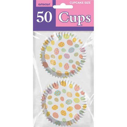 Easter Dots Cupcake Cups 50ct by Factory Card and Party Outlet (Image #1)